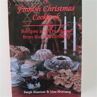 A Finnish Christmas Cookbook  paperback