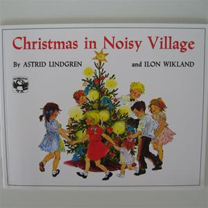 Christmas in Noisy Village by Astrid Lindgren softcover