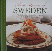 Classic Recipes of Sweden  Hardcover  64 pages