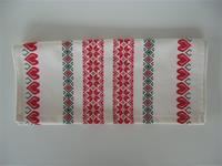 "14"" x 48"" cotton runner   Made in Finland  White"