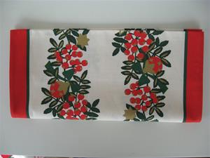 "14"" x 48"" cotton runner Made in Finland Berries"
