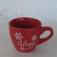 Glögg cup, red