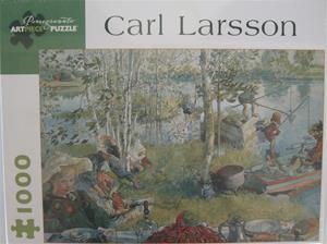 "Carl Larsson Jigsaw PUzzle ""Crayfishing"", 1,000 pieces"