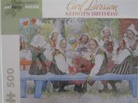 "Carl Larsson Jigsaw Puzzle ""Kersti's Birthday"", 500 pieces"