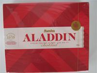 Aladdin boxed dark and light chocolate  Marabou of Sweden  17.6 oz