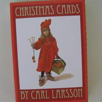 Carl Larsson Christmas cards   4 assorted design 8 cards total