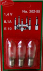 3 extra bulbs for Lucia Crown