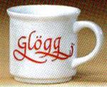 Glögg cup  with tradition information on back