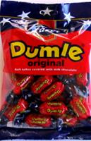 Fazer Dumle candies soft toffee covered with milk chocolate 7.76 oz bag